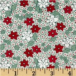 Aunt Grace Miniatures Large Floral Green