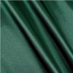 Poly Charmeuse Satin Hunter Green Fabric