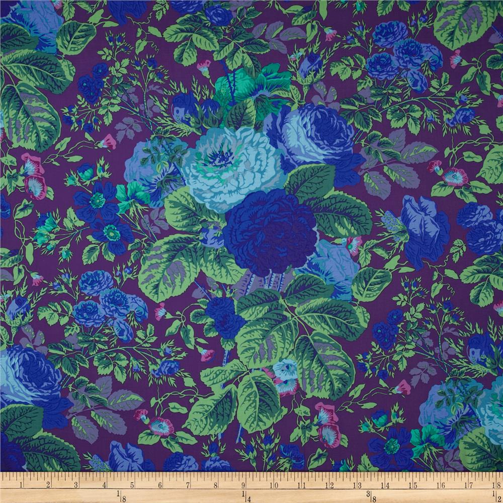 Kaffe Fassett Collective Grandi Floral Purple