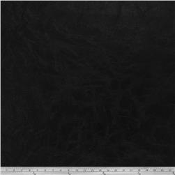 Fabricut Highfield Faux Leather Black