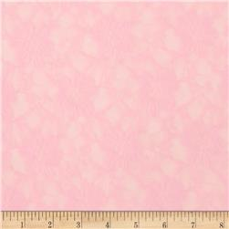 Stretch Floral Lace Light Pink Fabric