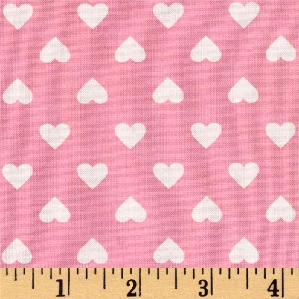 Kaurman Sevenberry Classiques Med Hearts Pink
