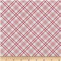 Penny Rose Gingham Girls Plaid White