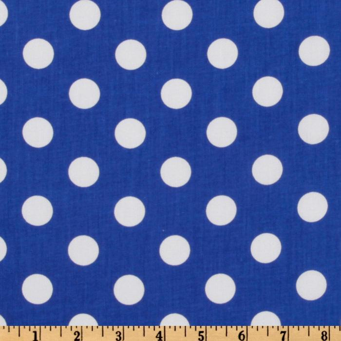 Forever Large Polka Dot Royal