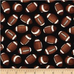 Whole 9 Yards Football Tossed Footballs Black