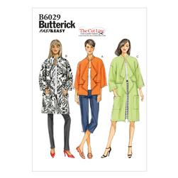 Butterick Misses' Jacket Pattern B6029 Size 0Y0