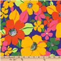 Kaufman Laurel Canyon Floral Spray Bright
