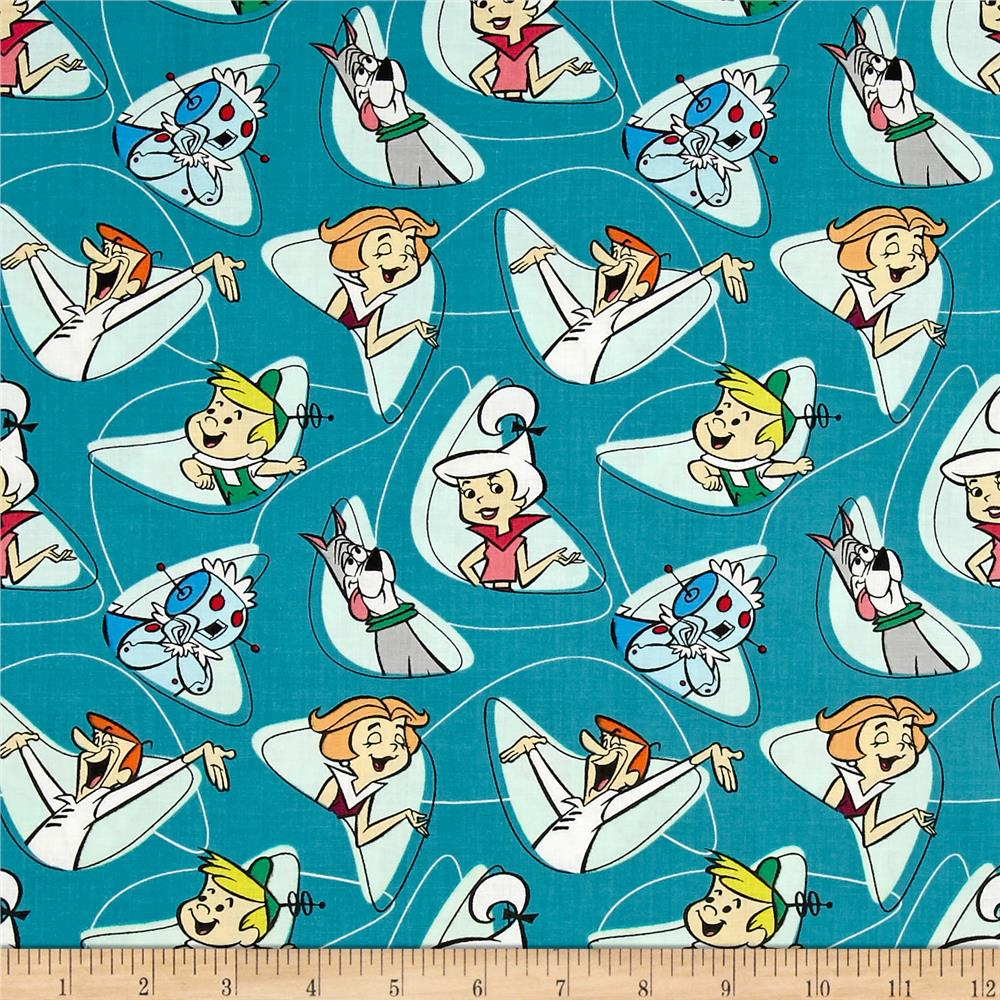The Jetsons Characters Shapes Dark Blue