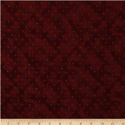 Cayenne Mini Triangle Dots Burgundy