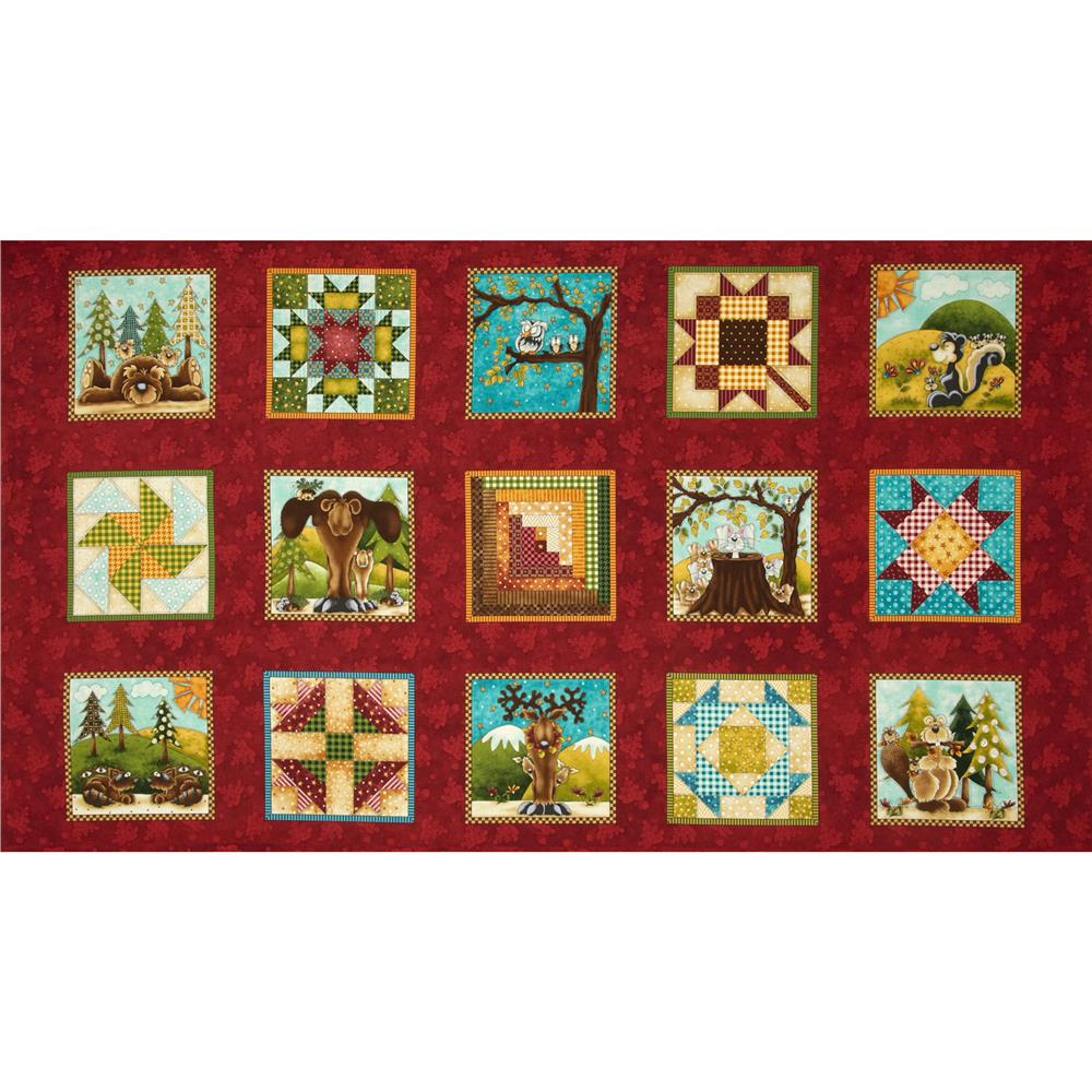 Clearwater Critters Blocks Red