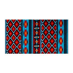 Minky Cuddle Prints Aztec Dark Turquoise