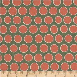Riley Blake Valencia Dot Coral Fabric
