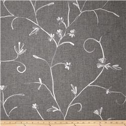 Bartow Embroidered Garden State Floral Grey/Silver