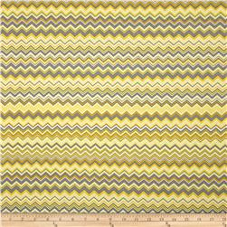 A.E. Nathan Chevron Yellow/Grey/White