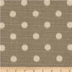 Premier Prints Ikat Dots Nova Grey/Birch