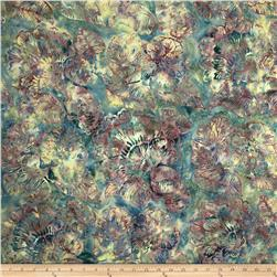 Bali Batik Handpaints Bohemian Floral  Willow