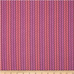 Spectrum Knit Stitch Wildberry