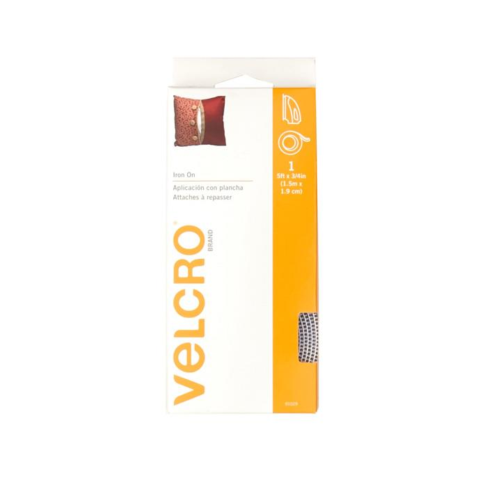 Velcro Fabric Fusion Tape 3/4'' x 5' White