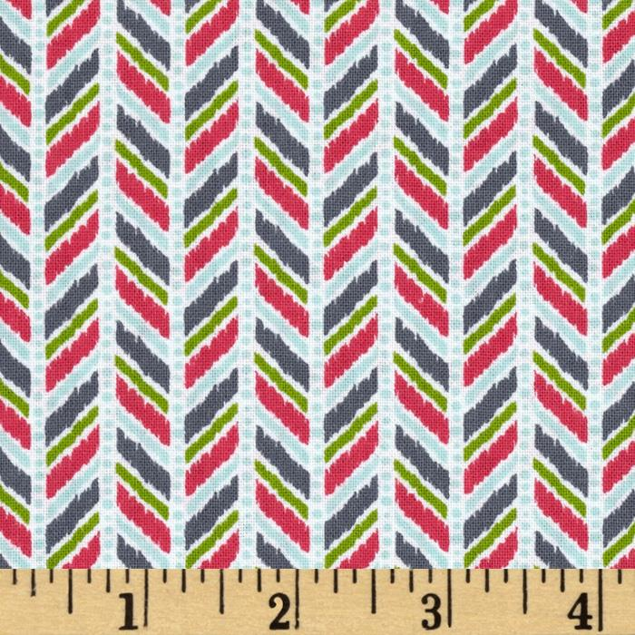 Caravan Dreams Herringbone Pink