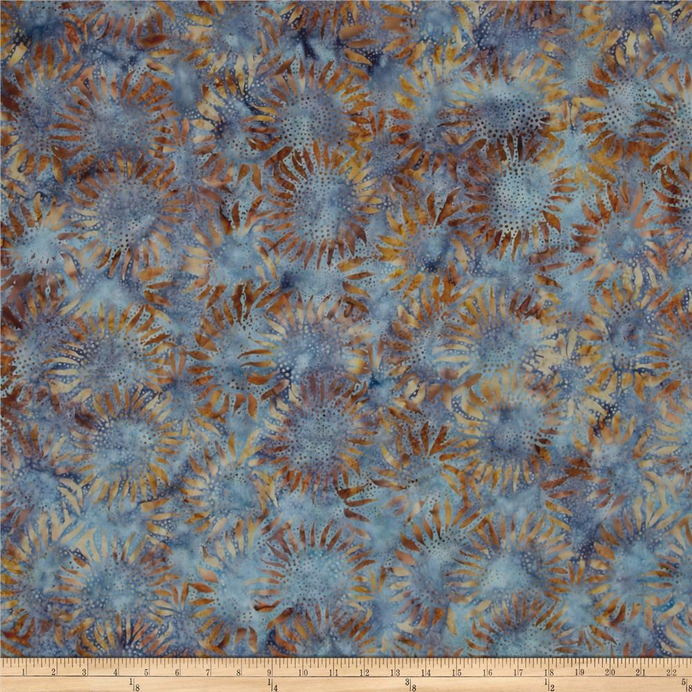 Hoffman bali batiks sunflower cabo discount designer for Fabric purchase