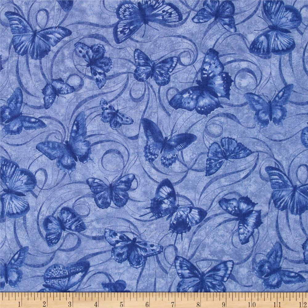 Orchid Shadows Orchid Shadow Swirl Medium Blue