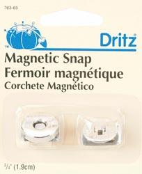 3/4'' Magnetic Snap Gilt Gold