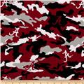 Collegiate Cotton Broadcloth The University of Alabama Camouflage