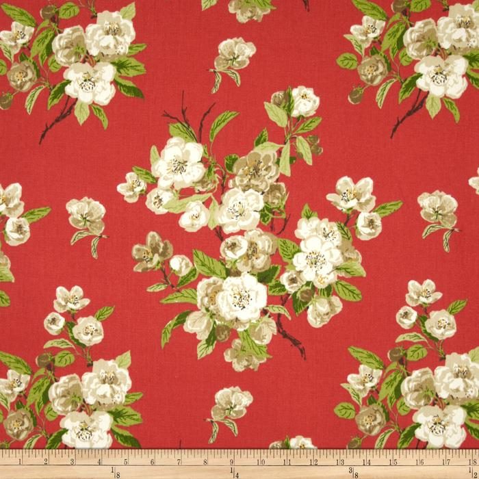 Waverly Primrose Patio Twill Watermelon