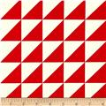 Riley Blake Sashing Stash Half-Square Triangles Red