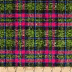 6 oz. Flannel Plaid Green/Blue/Red