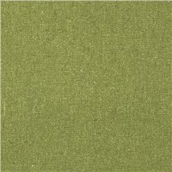 Raw Silk Noil Fern Green