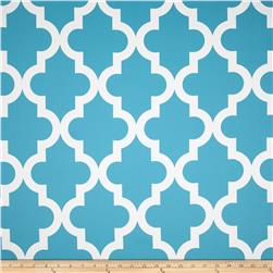RCA Trellis Blackout Drapery Fabric Capri Blue