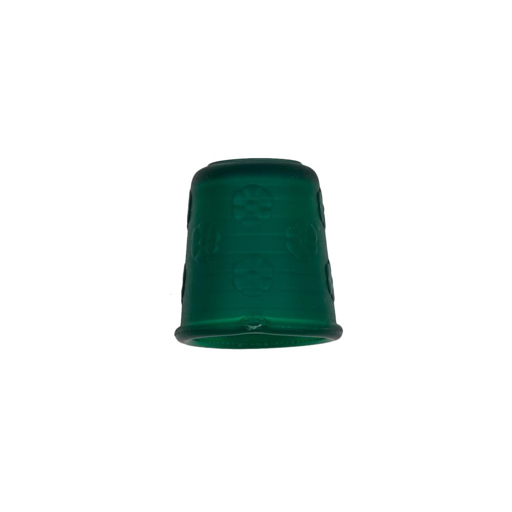 "Dill Rubberized Thimble 7/8"" Green"