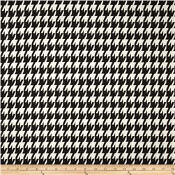 Premier Prints Large Houndstooth Black Fabric