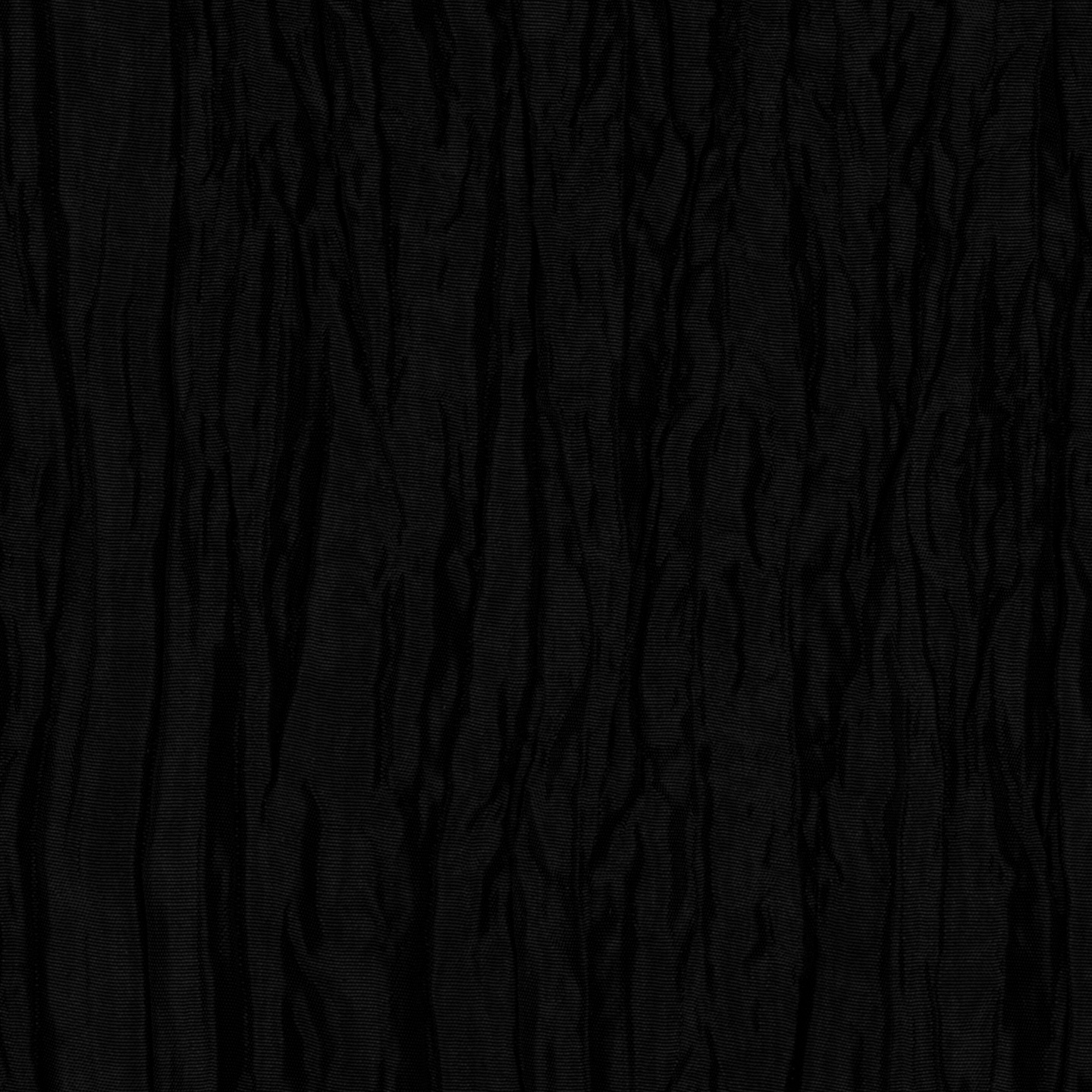 Crushed Taffeta Black Fabric