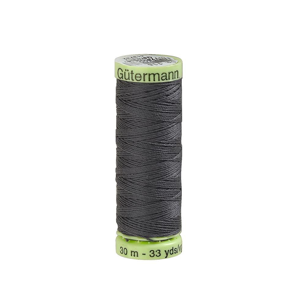 Gutermann Heavy Duty Polyester Topstitching Thread 30m/33yds Rail Grey