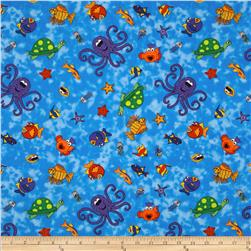 Under The Sea Sea Creatures Blue