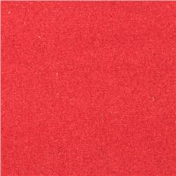 Raw Silk Noil Coral
