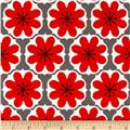 Riley Blake Mod Studio Damask Red