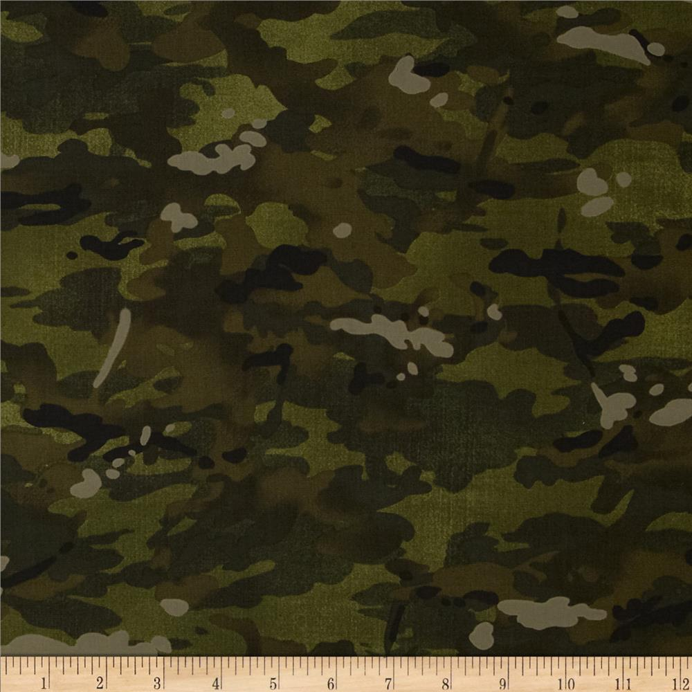 Moda Because of the Brave Camo Army Green