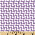 Michael Miller Tiny Houndstooth Purple