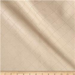 Richloom Tough Faux Leather Gorman Cream