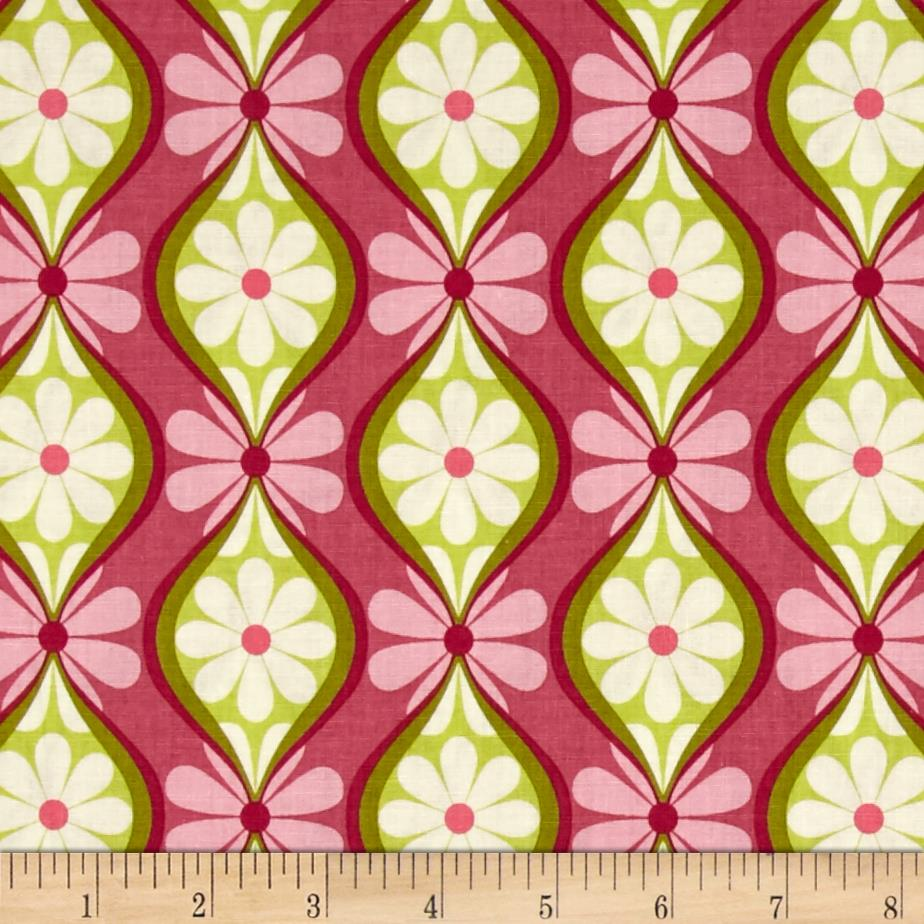 Riley Blake Botanique Stripe Berry