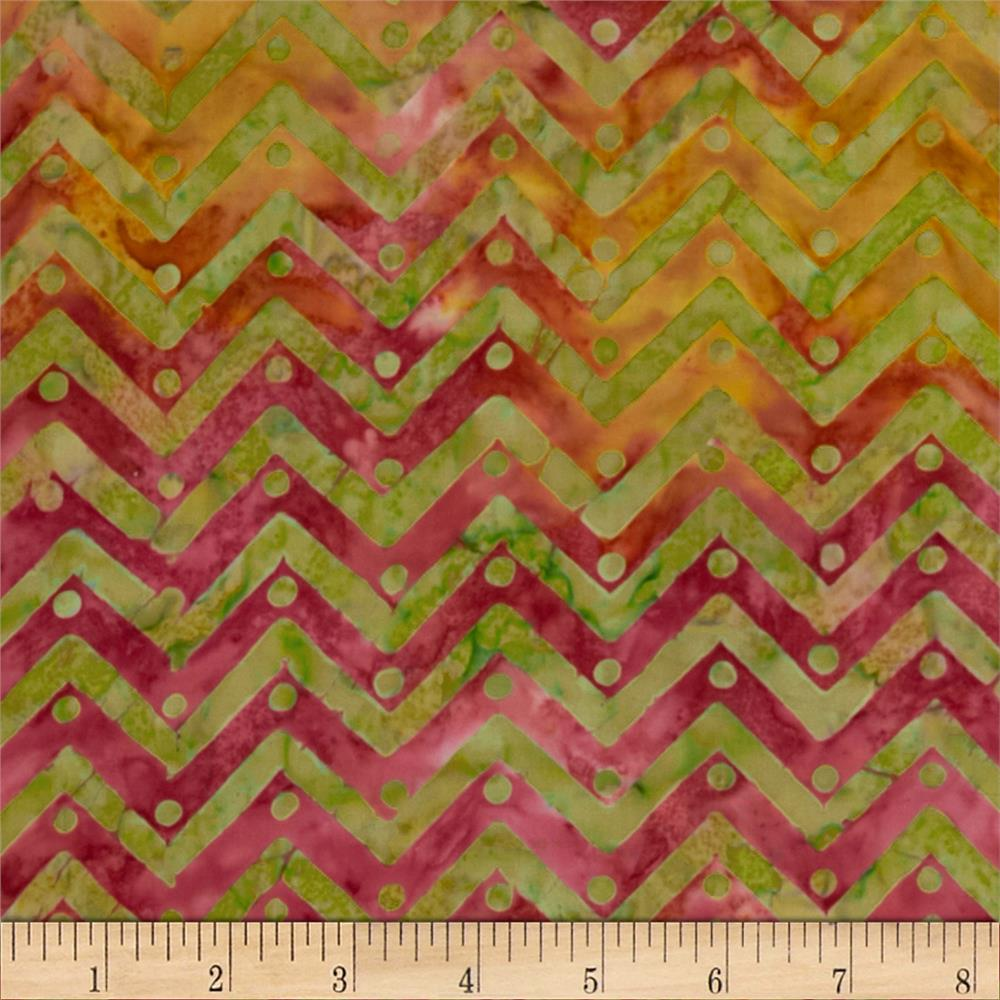 Moda Bobbins & Bits Batiks Pinked Edges Multi