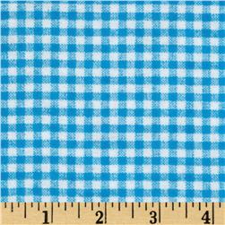 Camelot Flannel Gingham Check Horizon Blue