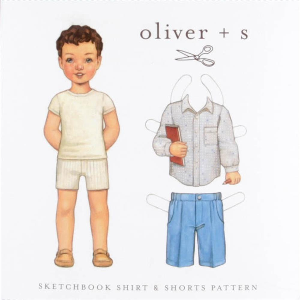 Oliver + S Sketchbook Shirt & Shorts Pattern