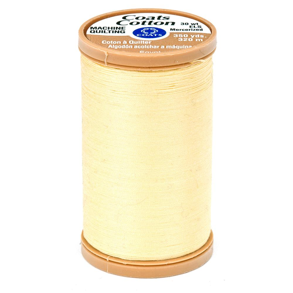 Coats & Clark Machine Quilting Cotton Thread 350 yd. Yellow