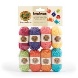 Lion Brand BonBons Yarn Pack Brights