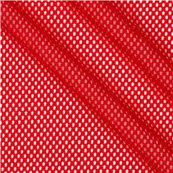 Mod Stretch Mesh Red
