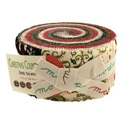 Moda Christmas Countdown Jelly Roll